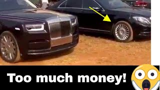 RICH IGBO BOYS STORM THEIR TOWN WITH LOTS OF ROLLS ROYCE