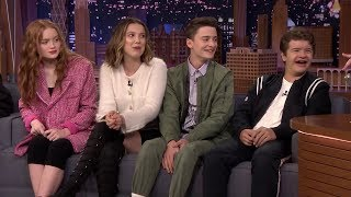 Stranger Things Cast Funny Moments 2019