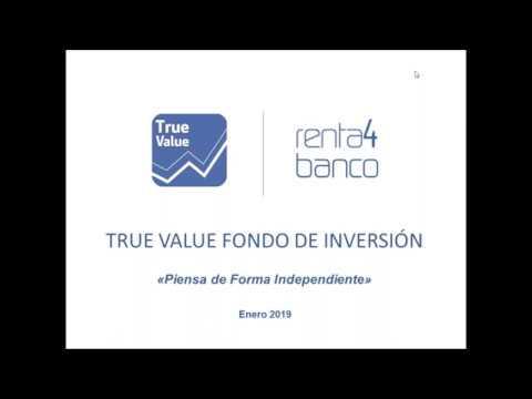 Webinar repaso Q4 2018 True Value | Cartera 2019