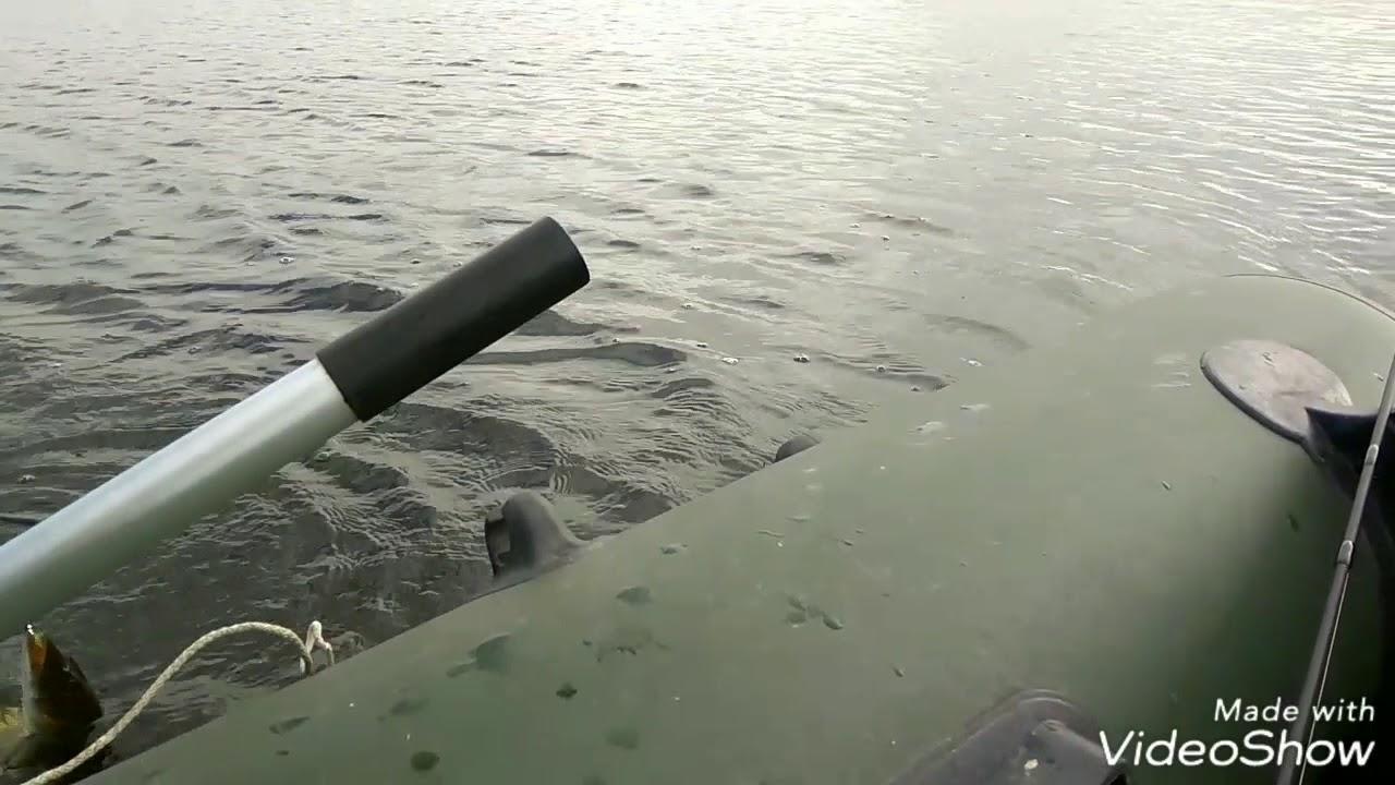 Рыбалка в г.Челябинске,о.Смолино,залив Сухомесово.Щучка вместо окуня.29 августа 2017г.