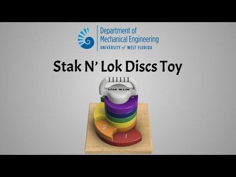 Stak N' Lok Toy - UWF Modern Product Design Spring 2018