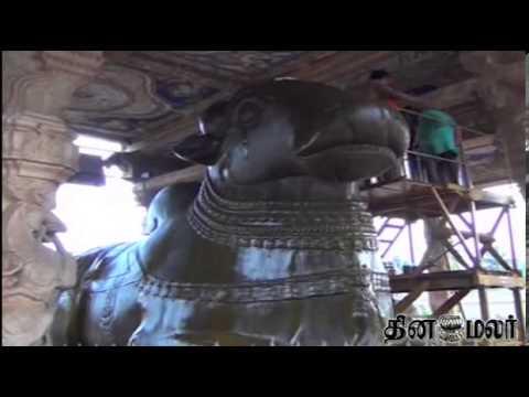 Thanjai periya kovil history in tamil