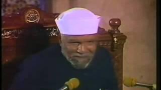خاطرة رائعة من خواطر الشيخ الشعراوي رحمه الله