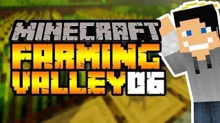 Nasze pierwsze zbiory #6 Minecraft: Farming Valley Modpack