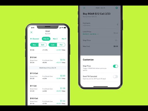 Closing out an options trade robinhood