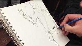 Drawing Around the City