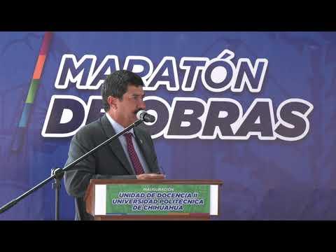 Inaugura Javier Corral nuevos edificios en la Universidad Politécnica de Chihuahua