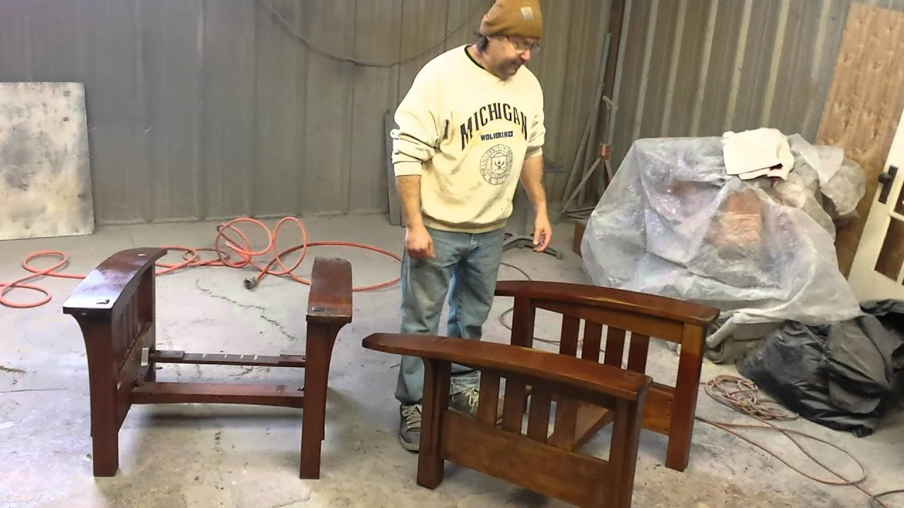 Merveilleux Refinishing Stickley Chairs At Timeless Arts Refinishing  Www.timelessartgr.com Grand Rapids Mi