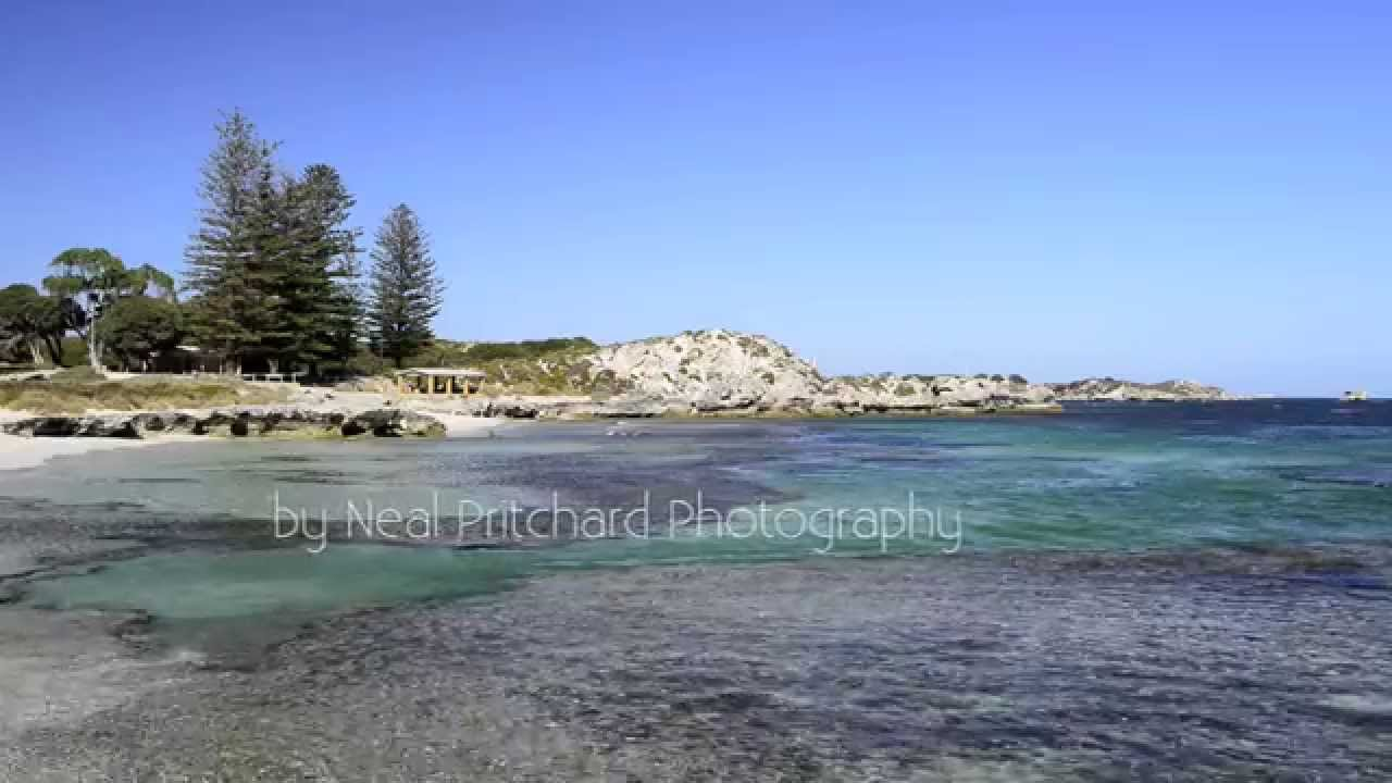 Bays And Beaches Of Rottnest Island Western Australia