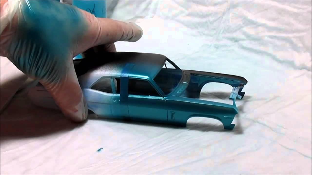 Painting Plastic Models With Acrylic Paint
