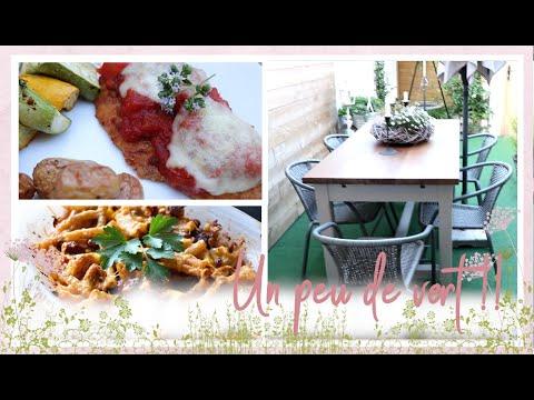 vlog-famille-du-7-août-:-gratin-de-pâte-mexicain,-dinde-à-la-parmigana,-crème-dessert-à-la-rhubarbe