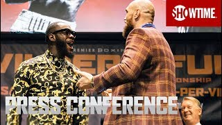 Wilder vs. Fury: Los Angeles Press Conference | SHOWTIME PPV