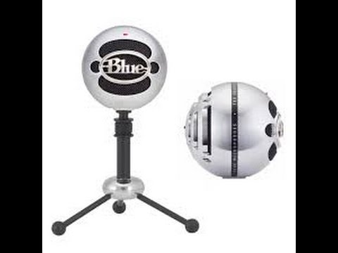 blue snowball microphone test review blue snowball vs logitech h340 usb microphone youtube. Black Bedroom Furniture Sets. Home Design Ideas