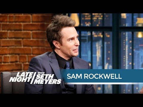 Sam Rockwell Once Interned for a Private Investigator  Late Night with Seth Meyers