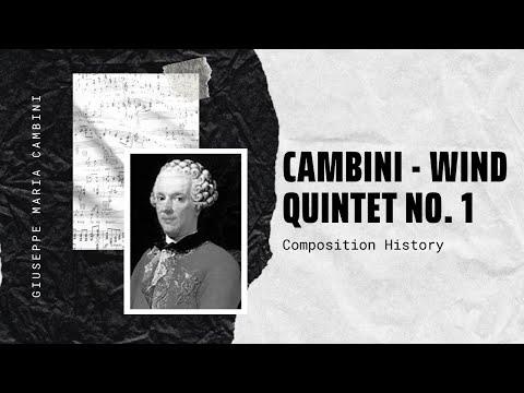 Giuseppe Maria Cambini - Wind Quintet No. 1 in B flat major