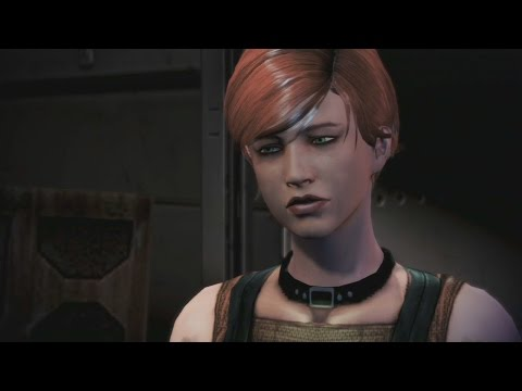 Mass Effect Trilogy: Kelly Chambers Romance Complete All Scenes(Male Shepard)