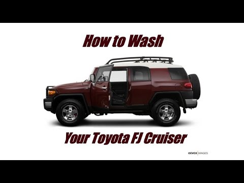 How To Wash A Toyota FJ Cruiser Properly