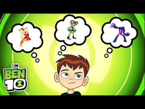 Ben 10 | Guess the Alien: Freaky Gwen Ben | Cartoon Network
