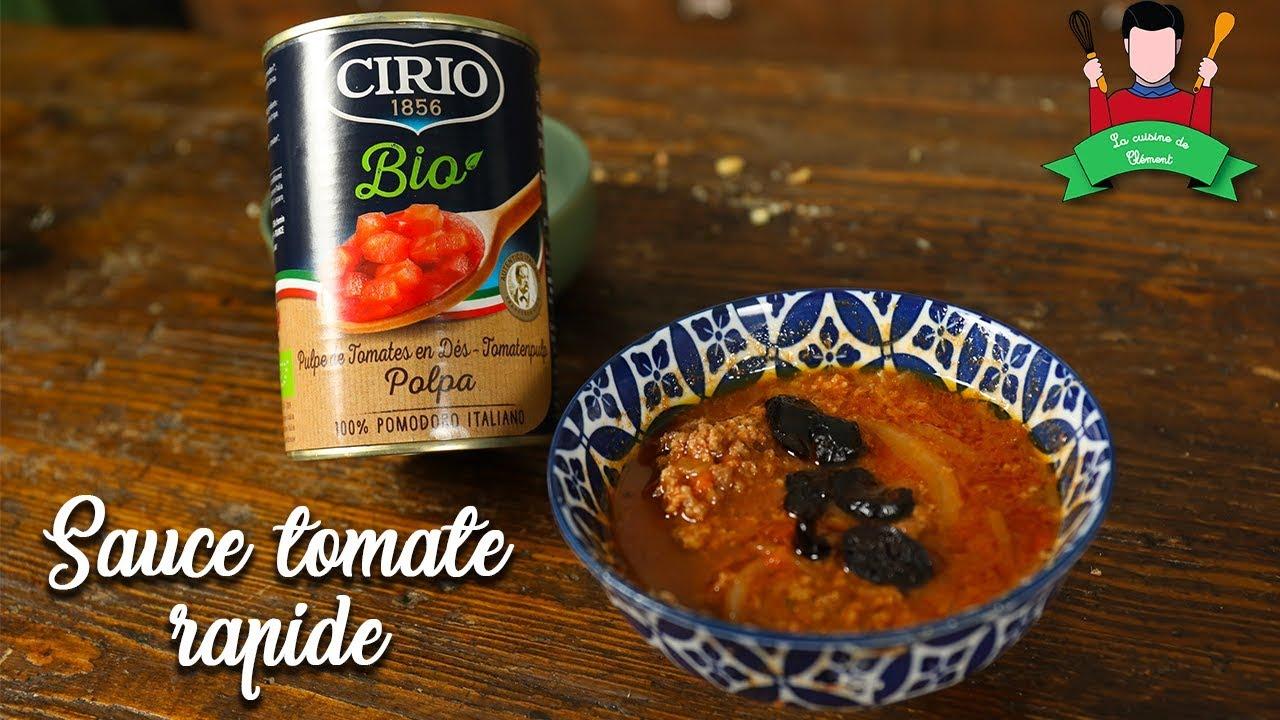 Recette Sauce Tomate Facile Rapide Feat Cirio Youtube
