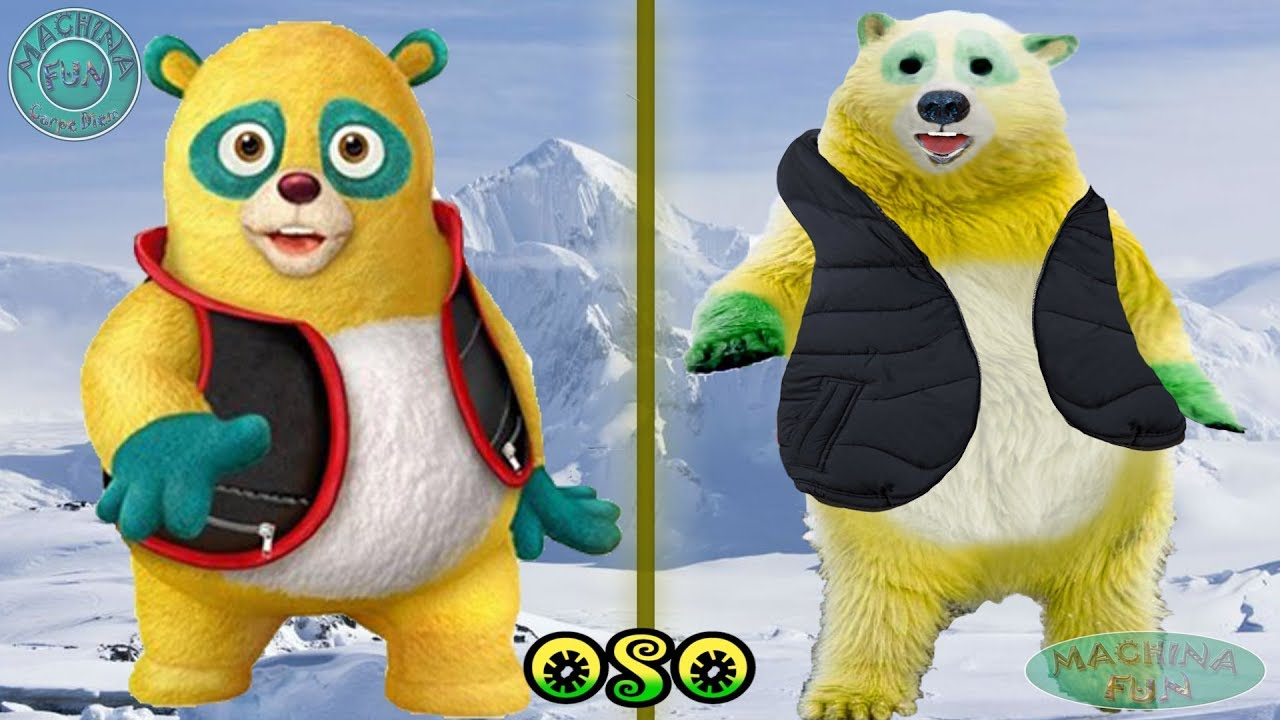 Special Agent Oso Characters In Real Life
