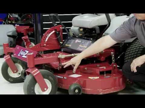 Exmark Lazer Z - Maintenance Tips, Part 4 - YouTube