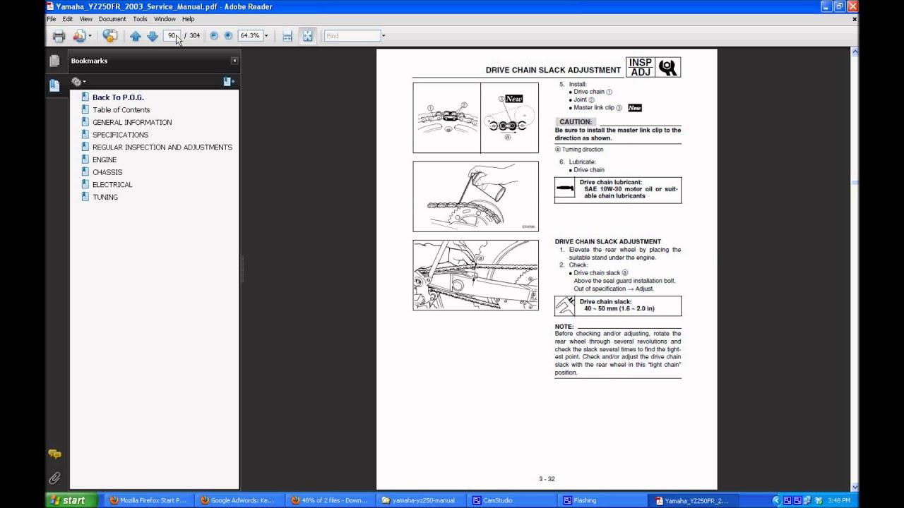 yamaha yz 250 manual youtube rh youtube com manual yamaha yzf 250 manual yamaha yz 250 f 2009