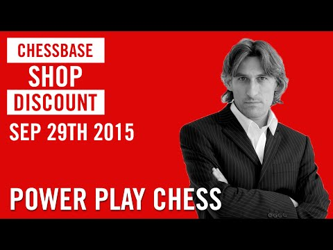 ChessBase Shop Sale - 25 % discount on September 29th - YouTube