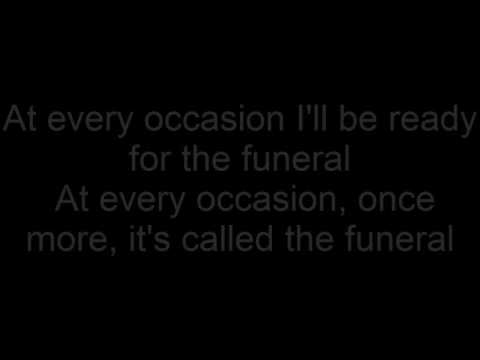 Band Of Horses - The Funeral (Lyrics)