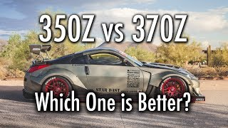350Z vs 370Z: Which One is Actually Better?