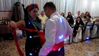 Выкуп туфли невесты на свадьбе 2018 Запорожье тамада ведущая Мария