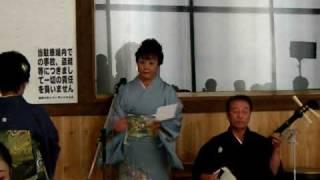 私の長女、高橋亜由美の披露宴での出し物 俵積み歌でした。一回だけ合わ...