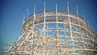 Derelict Joyland Amusement Park Kansas, America.