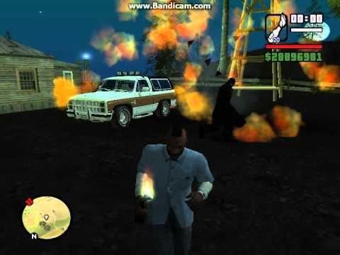 GTA San Andreas - Снежный...