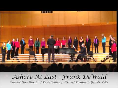 Ashore At Last by Frank DeWald - Roscommon Middle School Honors Choir