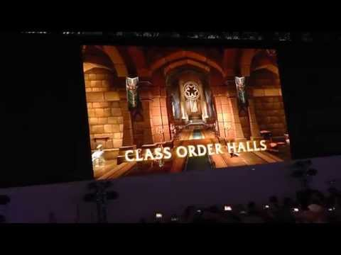 World of Warcraft Legion Reveal Live at Gamescom '15 (crowd reaction)
