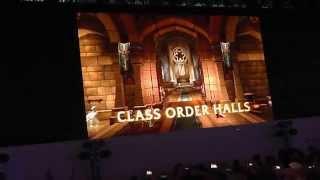 World of Warcraft Legion Reveal Live at Gamescom