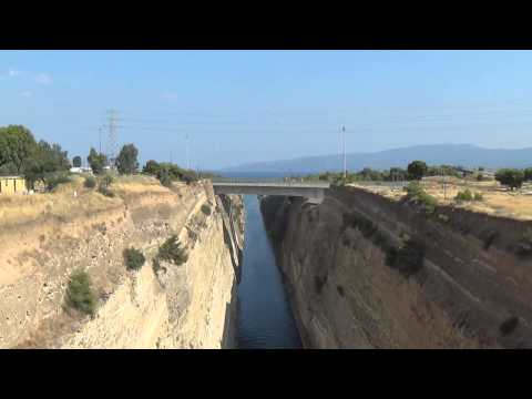 The Corinth Canal, Isthmus Greece