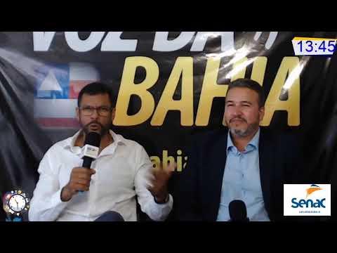 Meio-Dia e Meia Live hoje Dr. Edílson Magalhães pré-candidato a prefeito de Laje-BA