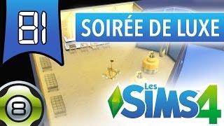 Les Sims 4 FR - Ep 81 - Nouveau kit d'objets Soirée de Luxe