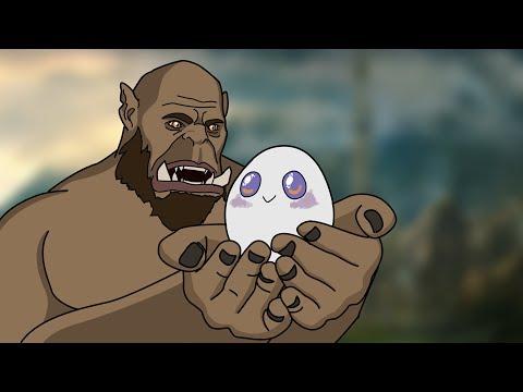 Raiding with an egg