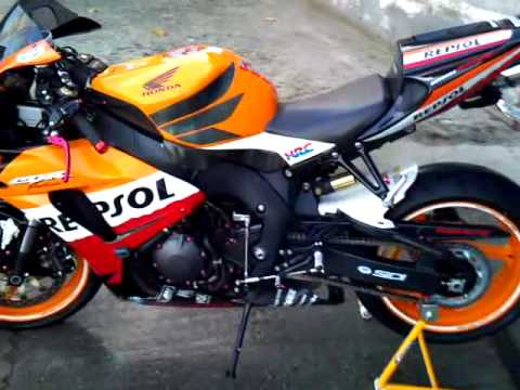 Honda Cbr 1000rr Repsol Youtube