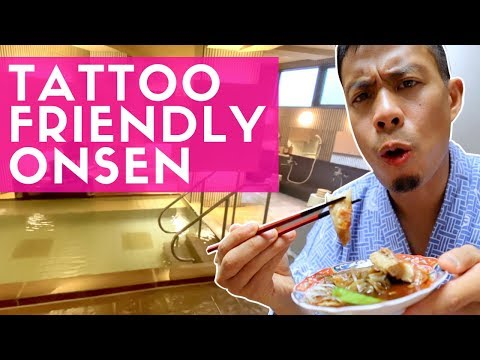 Japan Tattoo Friendly Onsen  By Tokyo & Food Tour Atami