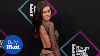 Lala Kent shimmers in silver at 2018 People's Choice Awards