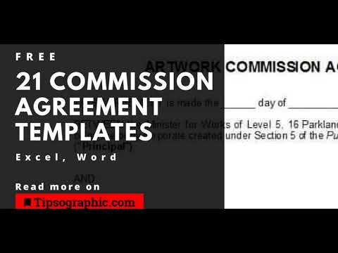 21-knockout-commission-agreement-templates,-free-download