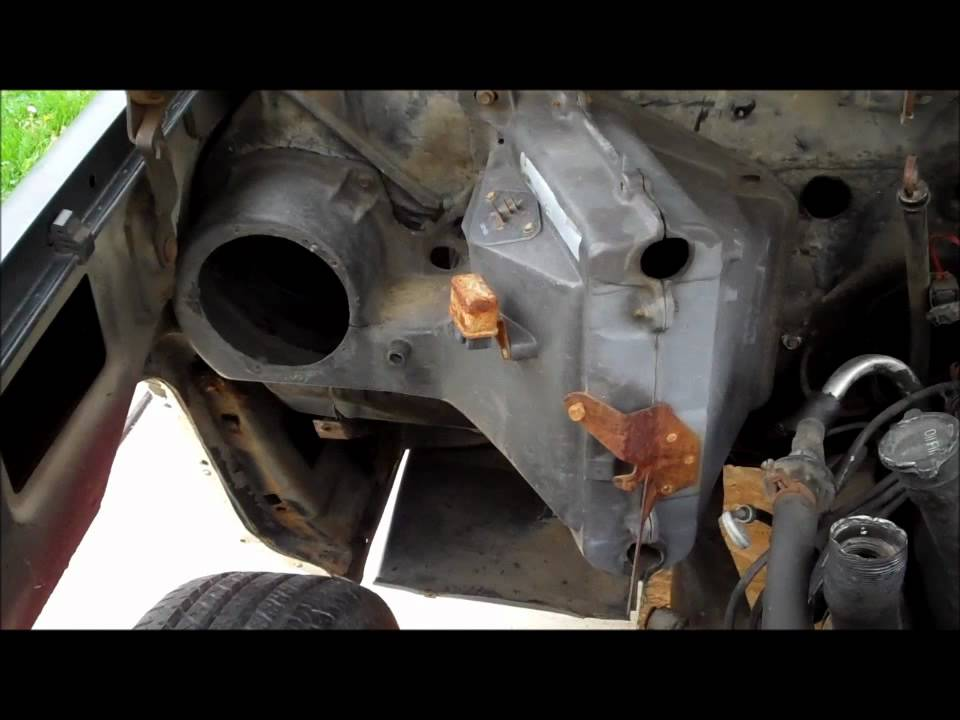 84 Chevy Silverado Update 3 Swapping the Air Conditioning Classic GBody  YouTube
