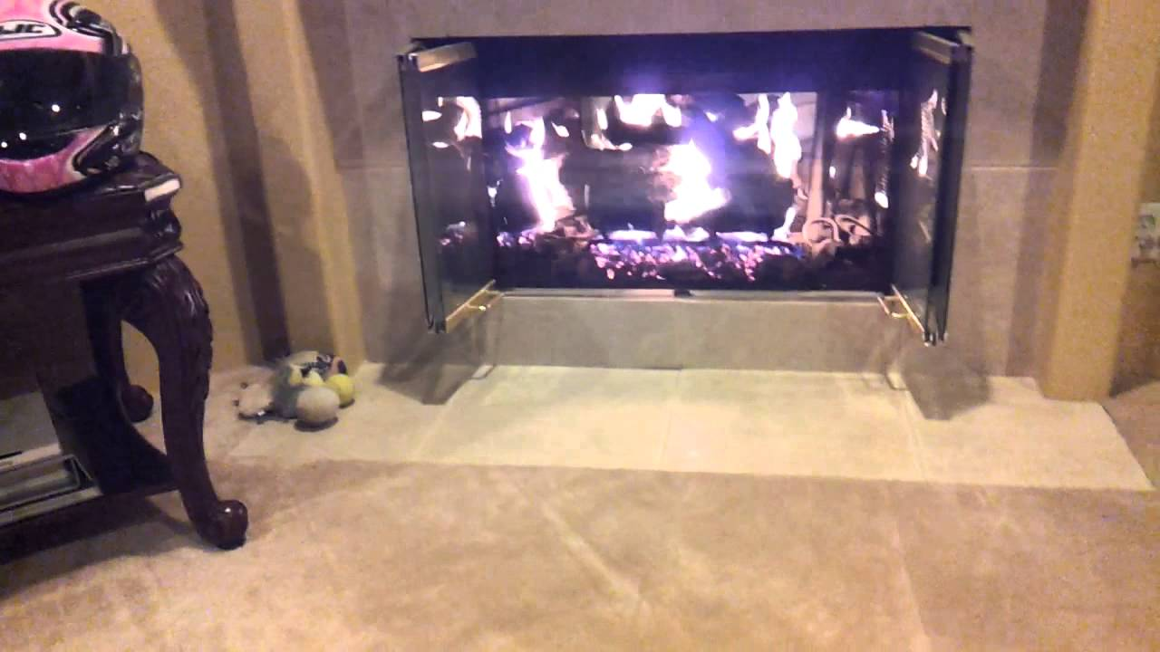 All Valley Fireplace FireBack Display - YouTube