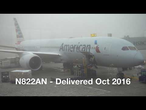 American Airlines Boeing 787-9 / Los Angeles To Dallas Ft. Worth / 4K Video !