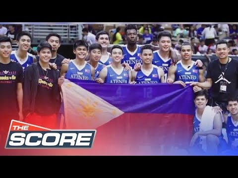 The Score: ADMU Blue Eagles return home from 2018 William Jones Cup