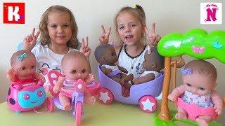 Мисс Кейти и Мистер Макс у нас дома Катя и Настя открывают коробку с подарками ПУПСИКИ JC Toys