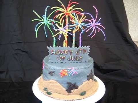 Fourth Of July Wedding Cake
